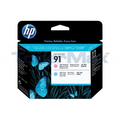 HP NO 91 PRINTHEAD LIGHT MAGENTA AND LIGHT CYAN